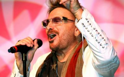 Chuck Negron Dons A Revolutionary Accessory