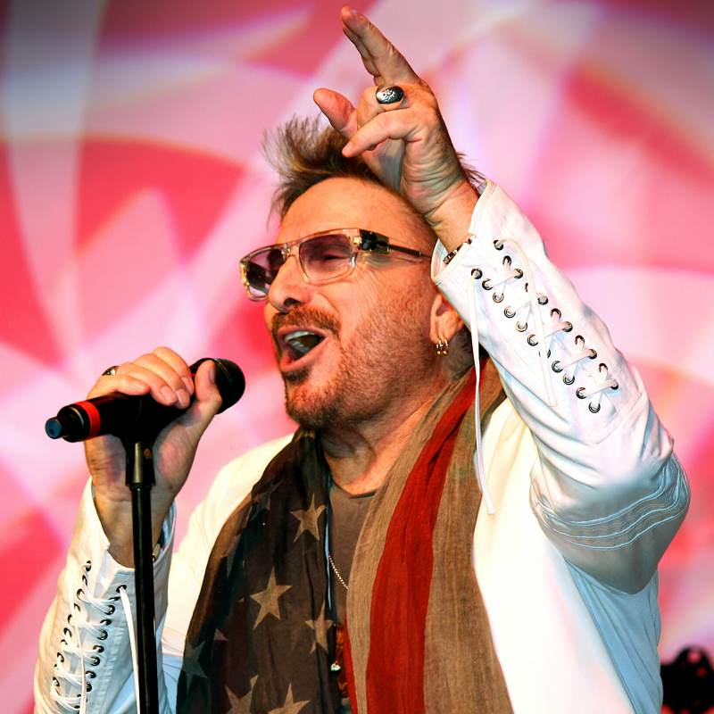 fed07fe63a Chuck Negron Dons A Revolutionary Accessory - 117 Entertainment Group
