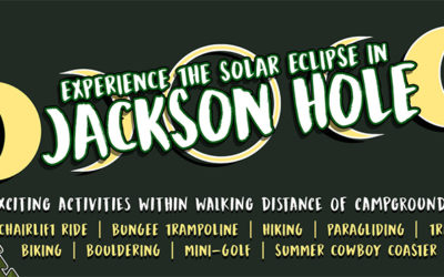 "Experience the August 21 Historic Solar Eclipse While ""Glamping"" in Jackson Hole, Wyoming"