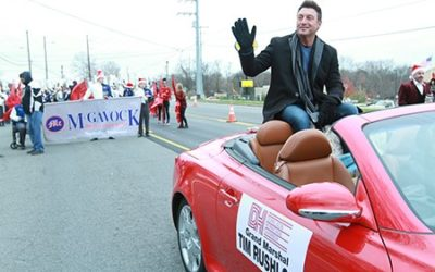 Tim Rushlow Honored As The Donelson Christmas Parade Grand Marshal